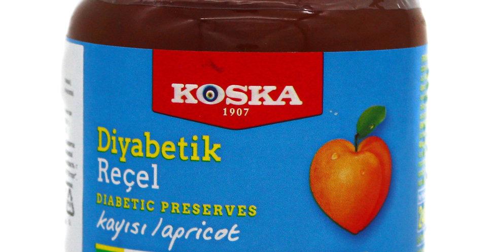 Варенье без сахара с абрикосом, Koska, 240 г