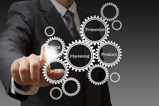 businessman-hand-draws-target-customers-