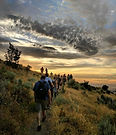 Hikers Wild Rose Trail Sunset.jpg