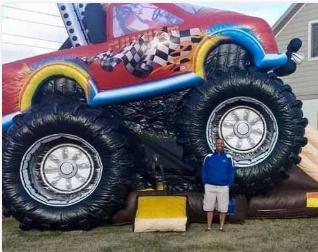 Bouncy Monster Truck