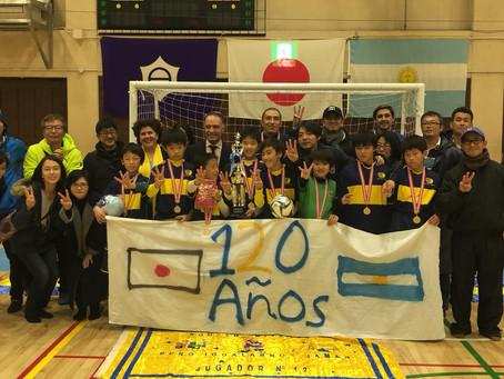 アルゼンチン大使館カップ‼3年ぶり3回目の優勝‼