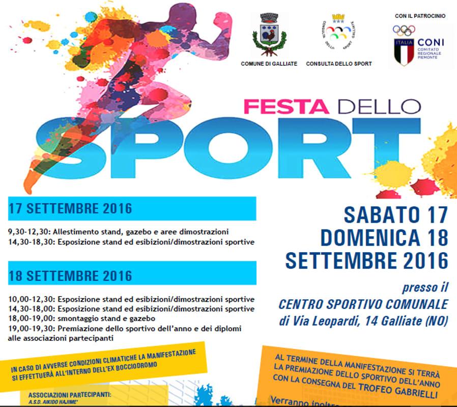 festa dello sport_Galliate 2016