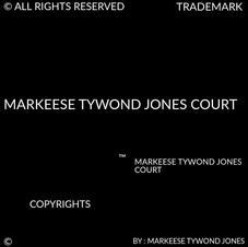 MARKEESE TYWOND JONES COURT COPYRIGHTS