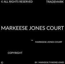 MARKEESE JONES COURT COPYRIGHT