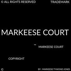 MARKEESE COURT COPYRIGHT