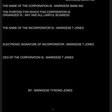 MARKEESE BANK INCORPORATED