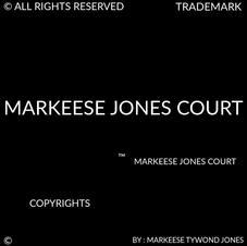 MARKEESE JONES COURT COPYRIGHTS