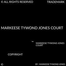 MARKEESE TYWOND JONES COURT COPYRIGHT