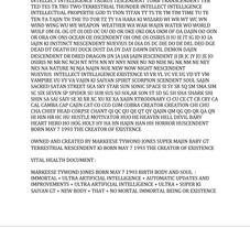 MARKEESE TYWOND JONES BORN MAY 7 1993 MY SPIRIT MAN IDENTITY DOCUMENT 3