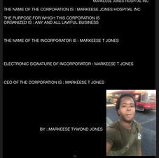 MARKEESE JONES HOSPITAL INC