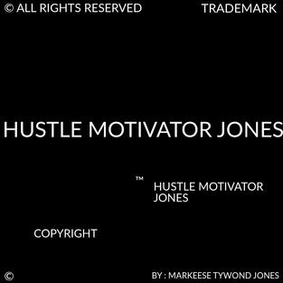 HUSTLE MOTIVATOR JONES
