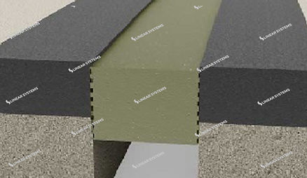 Foam Rubber Expansion Joint