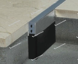 strip movement joint for screed