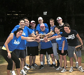 West End Softball League team members
