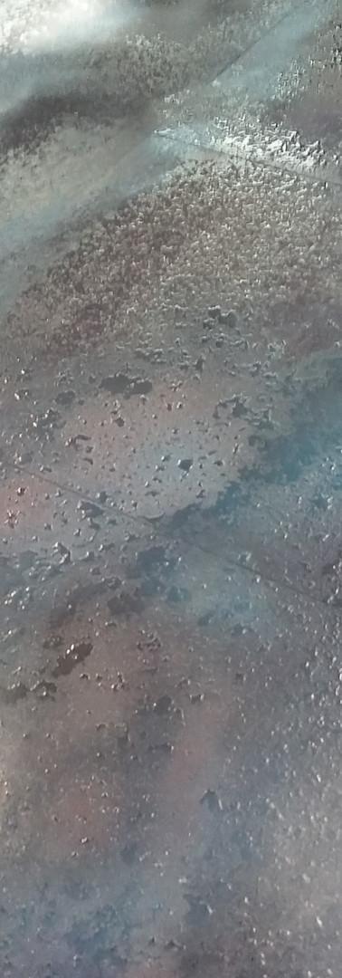 piastra da rivestimento colori freddi, verniciatura universe 3d