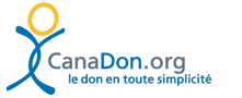 CanadaHelps Logo French (long, with tag,