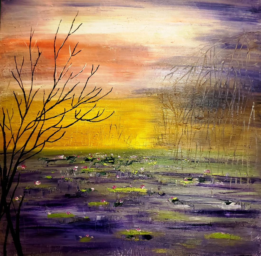 Imaginery Lotus Pond