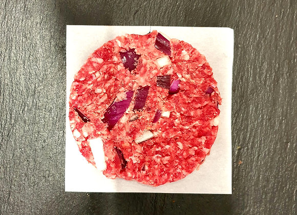 Beef & Red Onion Burgers (Pack of 5)