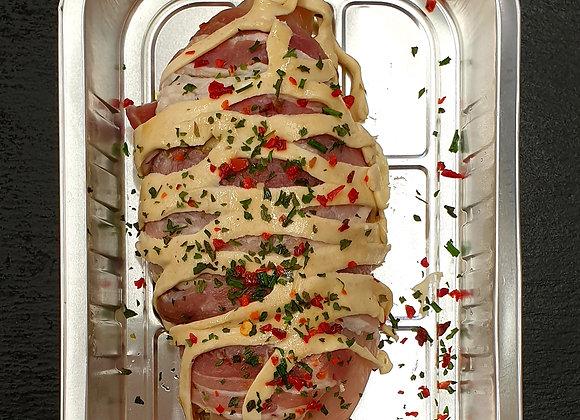Chicken En Croute with Brie & Pesto