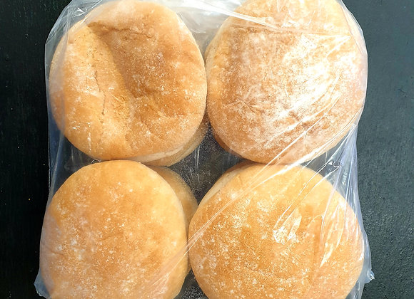 White Bread Buns (Pack of 8)