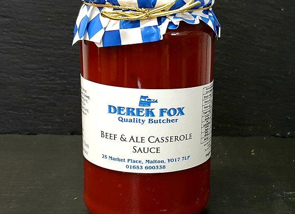 Beef & Ale Casserole Sauce