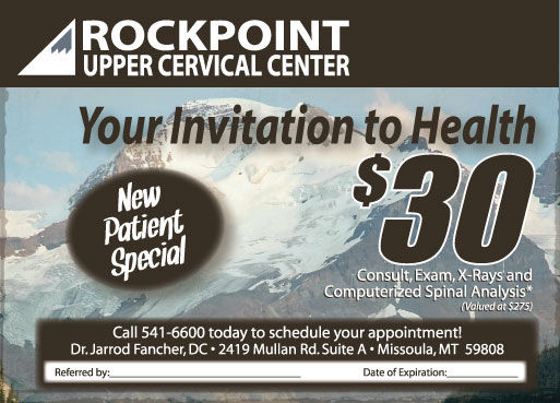 Chiropractor at Rockpoint Chiropractic Missoula Montana