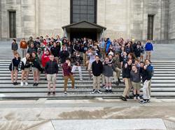 8th grade field trip 19-2020 Mississippi