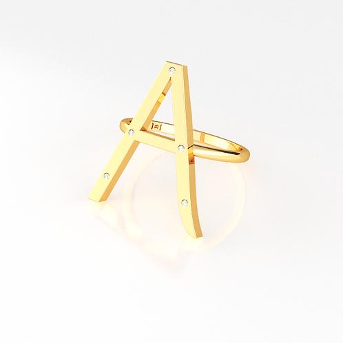 Anel - Inicial (personalizado)