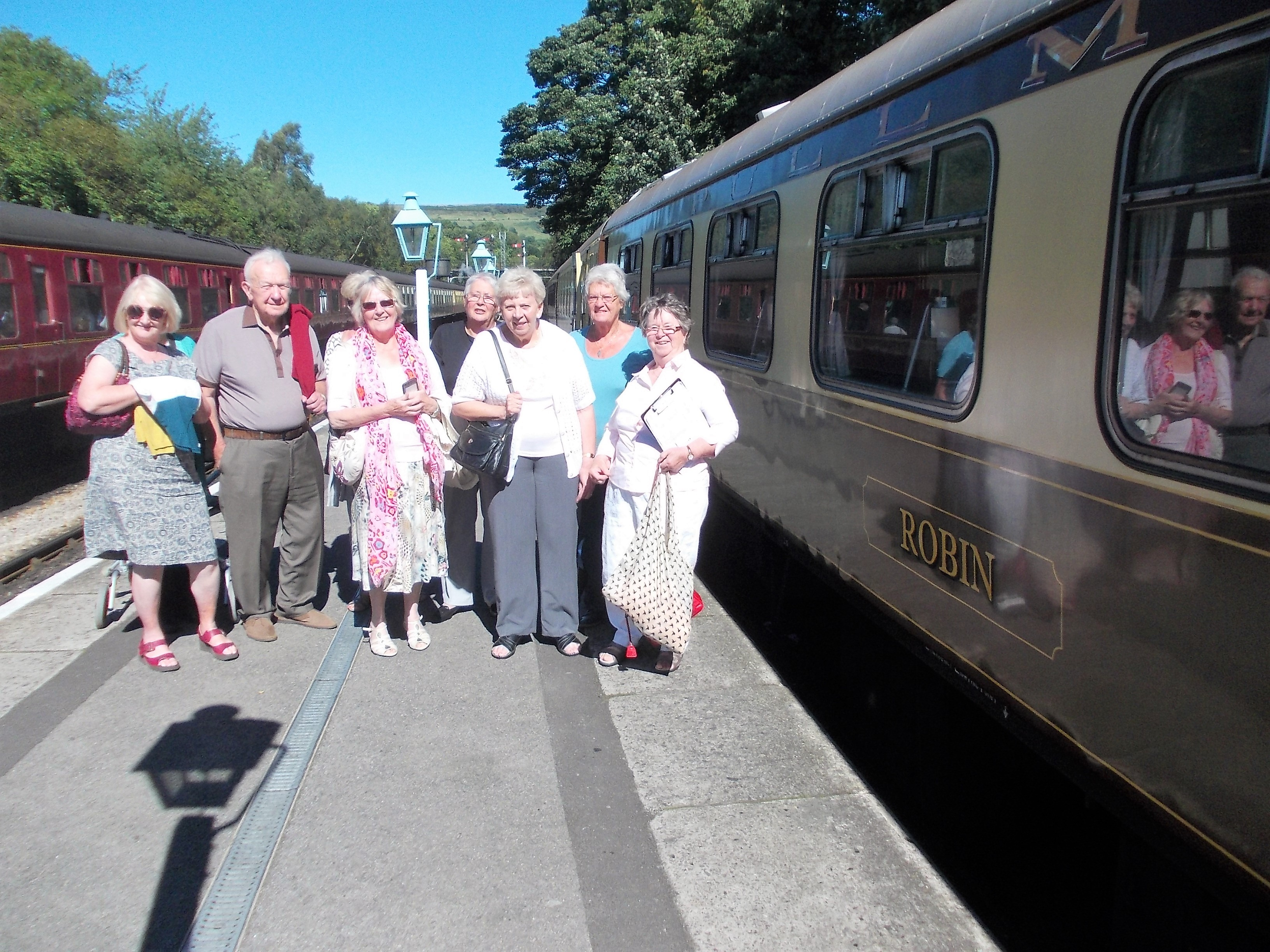 All aboard the NYMR