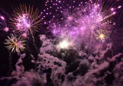 Fireworks at Sledmere