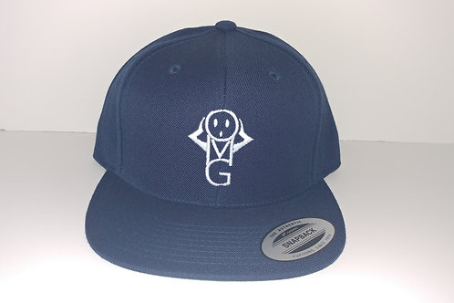 OMG Snapback - Navy-W