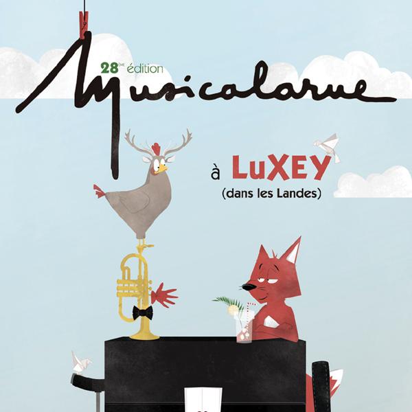 Affiche pour Musicalarue, 2017