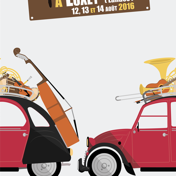 Affiche pour Musicalarue, 2016