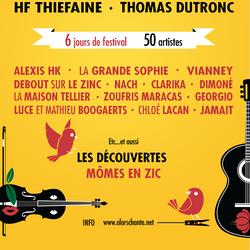 Affiche pour le festival Alors... Chante