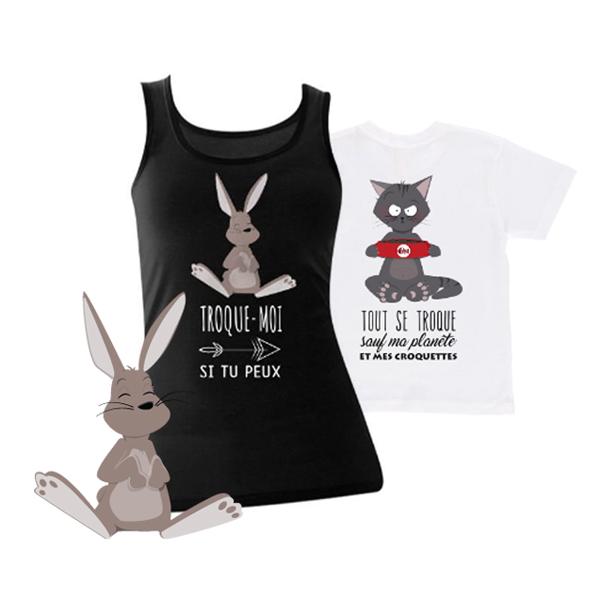 Tee-shirts MyTroc
