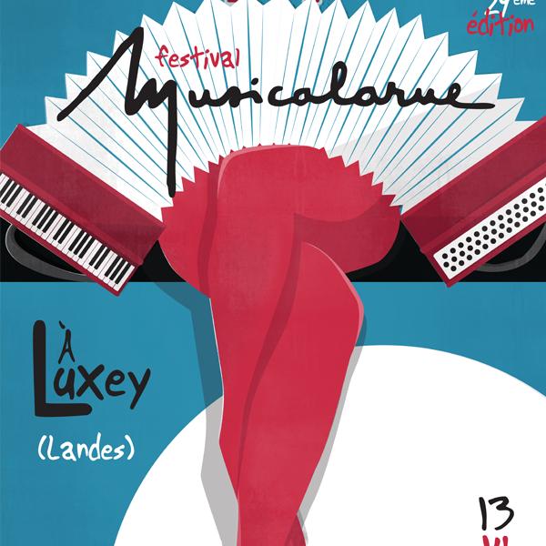 Affiche pour Musicalarue, 2018