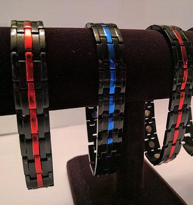Back the Blue & Red - Magnetic Bracelets