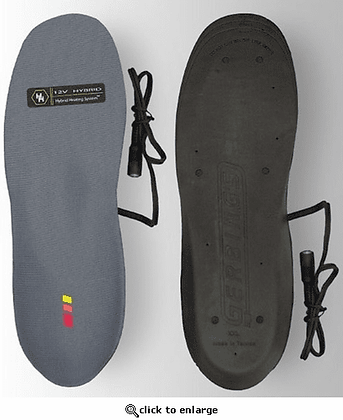 12V Heated Insoles - Gerbing