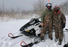 Snowmobiles in Vermont