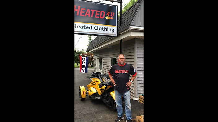 Heated 4 U heated clothing sales and contest for GWRRA WingDing