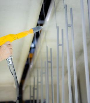 poeder coating wordt toegepast bij ons in de fabriek