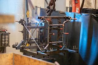 Door lasrobots worden menselijke fouten uit het proces vermeden