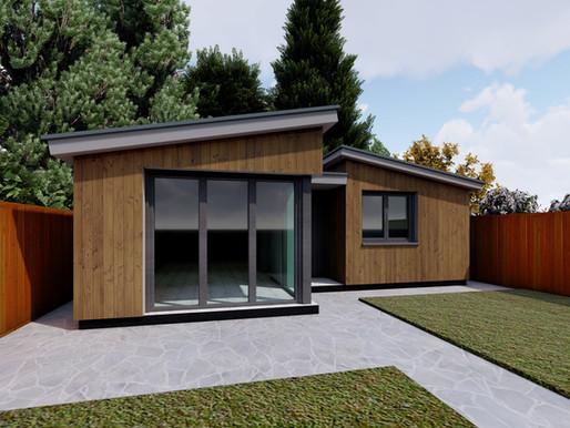 Rear Garden Outbuilding: