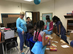 Burch Elementary Shoebox Project