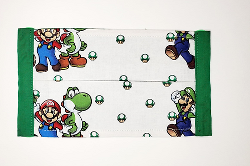Mario Brothers  Face Mask