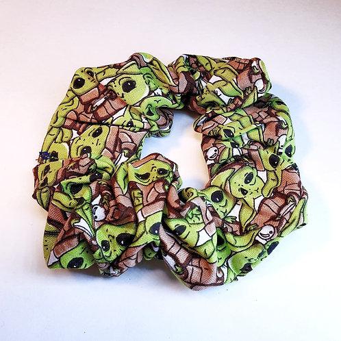 Baby Yoda Hair Scrunchies
