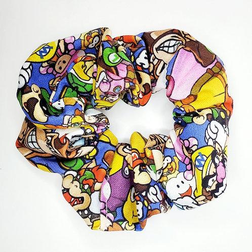 Mario Brothers Everyone Scrunchie