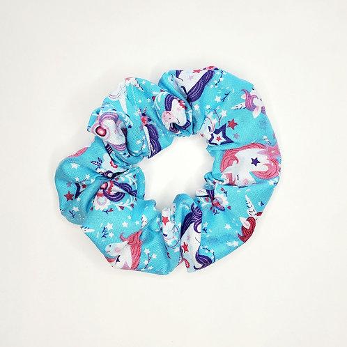 Unicorn Hair Scrunchie