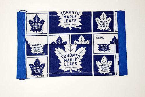 Toronto Maple Left Face Mask