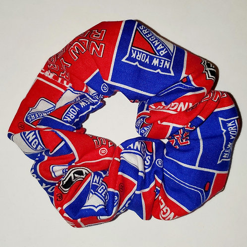 New York Hockey Scrunchie Rangers